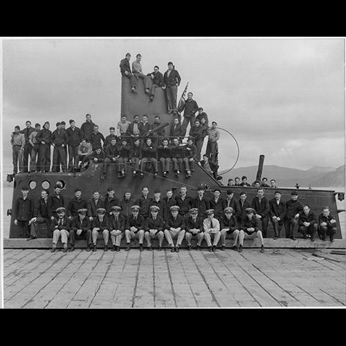 Crew of the USS Finback