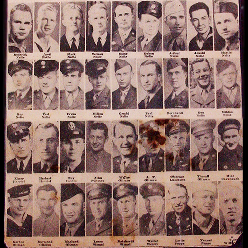 36 cousins from one family served during WWII, all of whom returned home safely